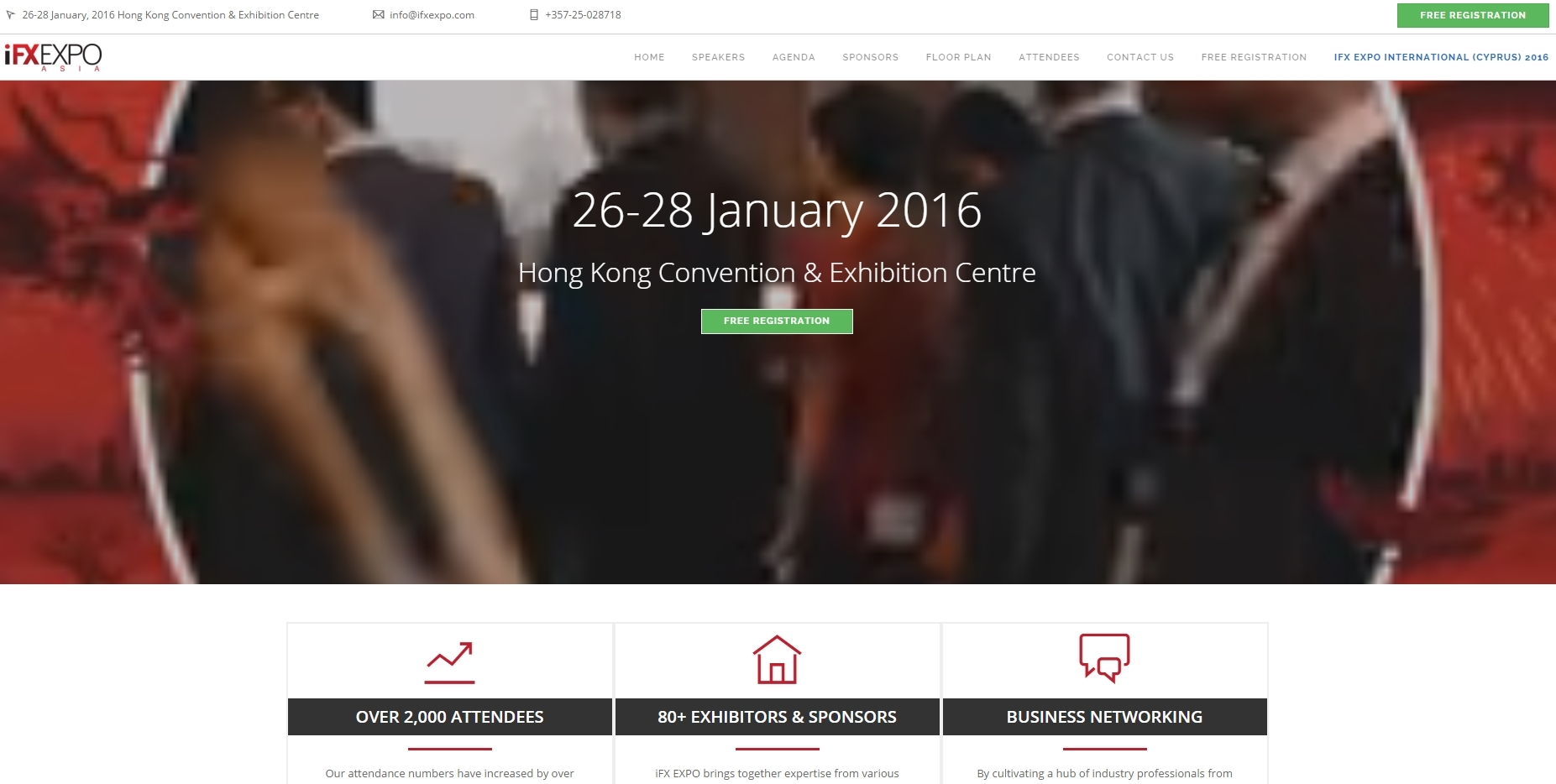 I AM GOING TO ATTEND iFX EXPO Asia 2016