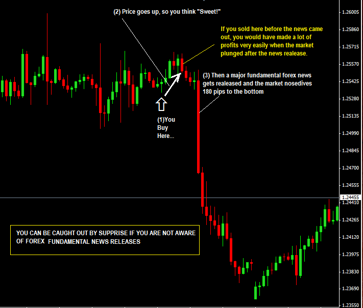 Forex-Fundamental-News-Trading-price action trading